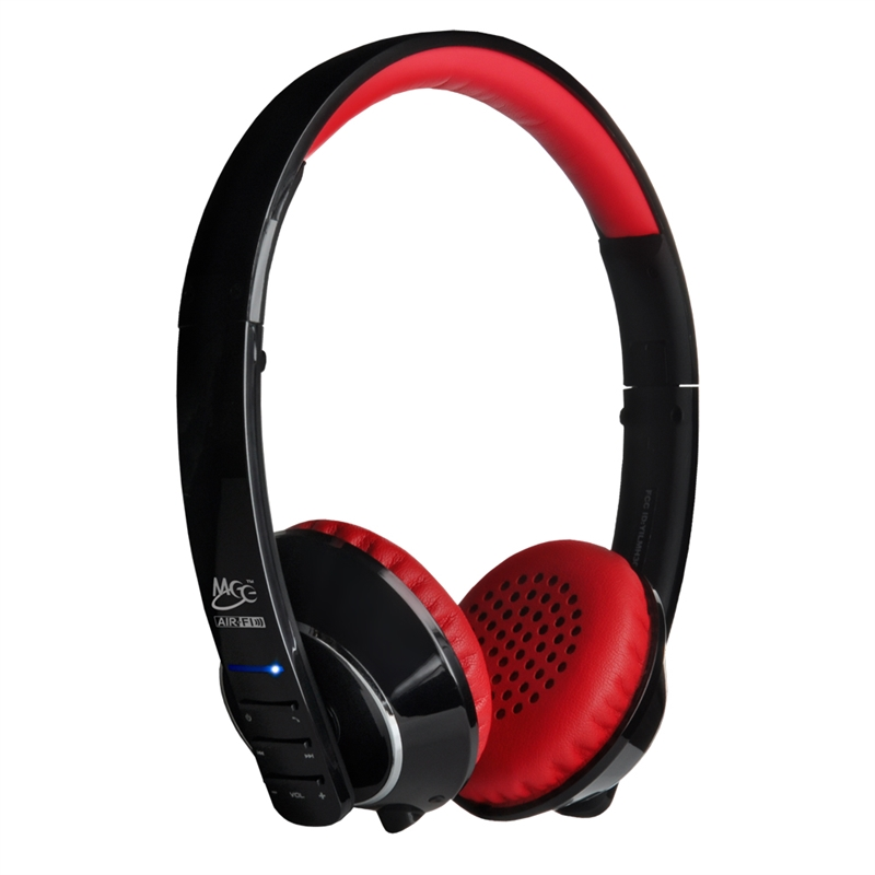 MEElectronics Air-Fi AF32 Bluetooth wireless stylish headphones with microphone